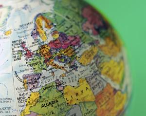carte de l'Europe des brevets