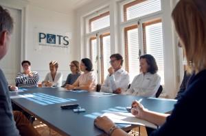élaboration d'une stratégie de propriété intellectuelle chez P&TS