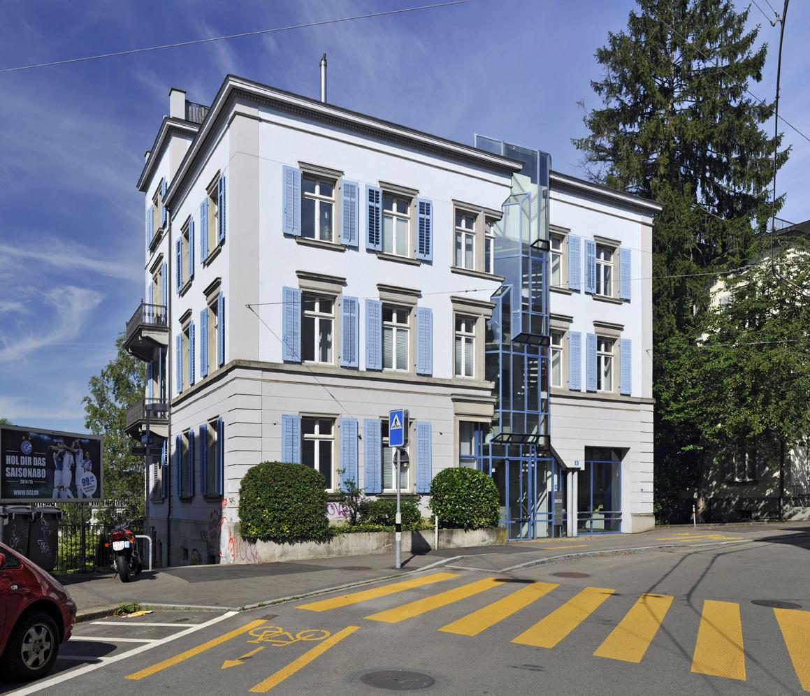 P&TS Gebäude in Zurich