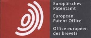 logo de l' Office Européen des Brevets (OEB)