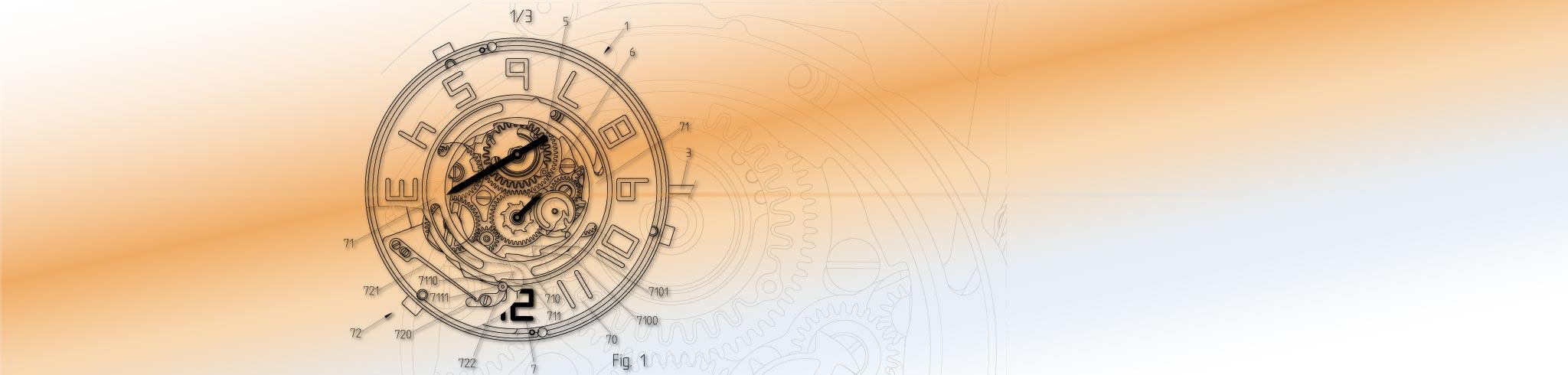 Mouvement de montre breveté