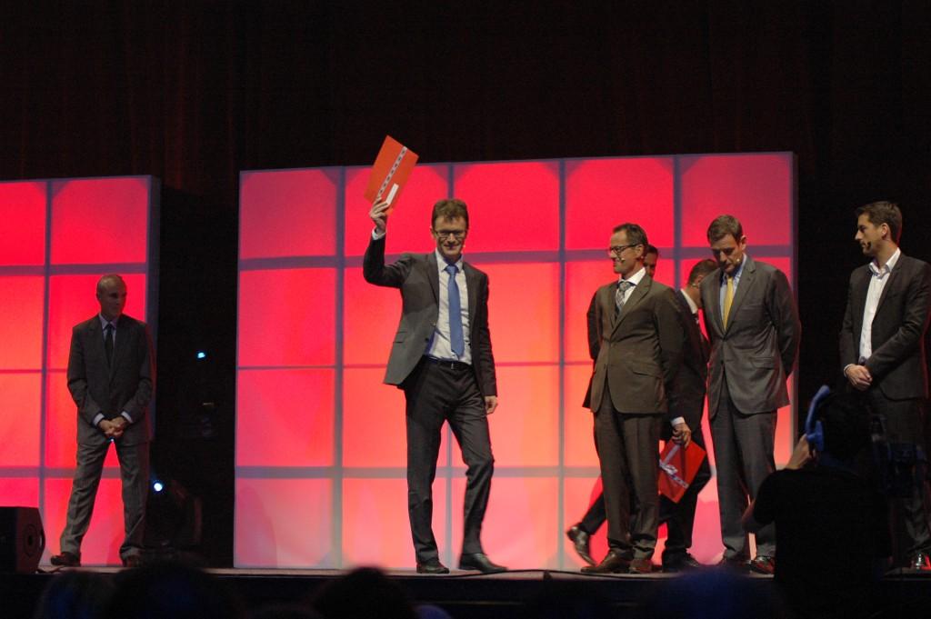 Christophe Saam reçoit le Prix SVC Suisse Romande