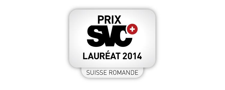 P&TS est lauréate du Prix SVC 2014, délivré aux sociétés les plus innovantes de Suisse Romande