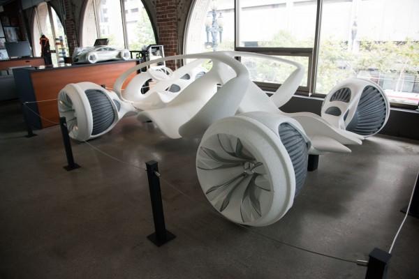 Voiture en impression 3D - la question des brevets