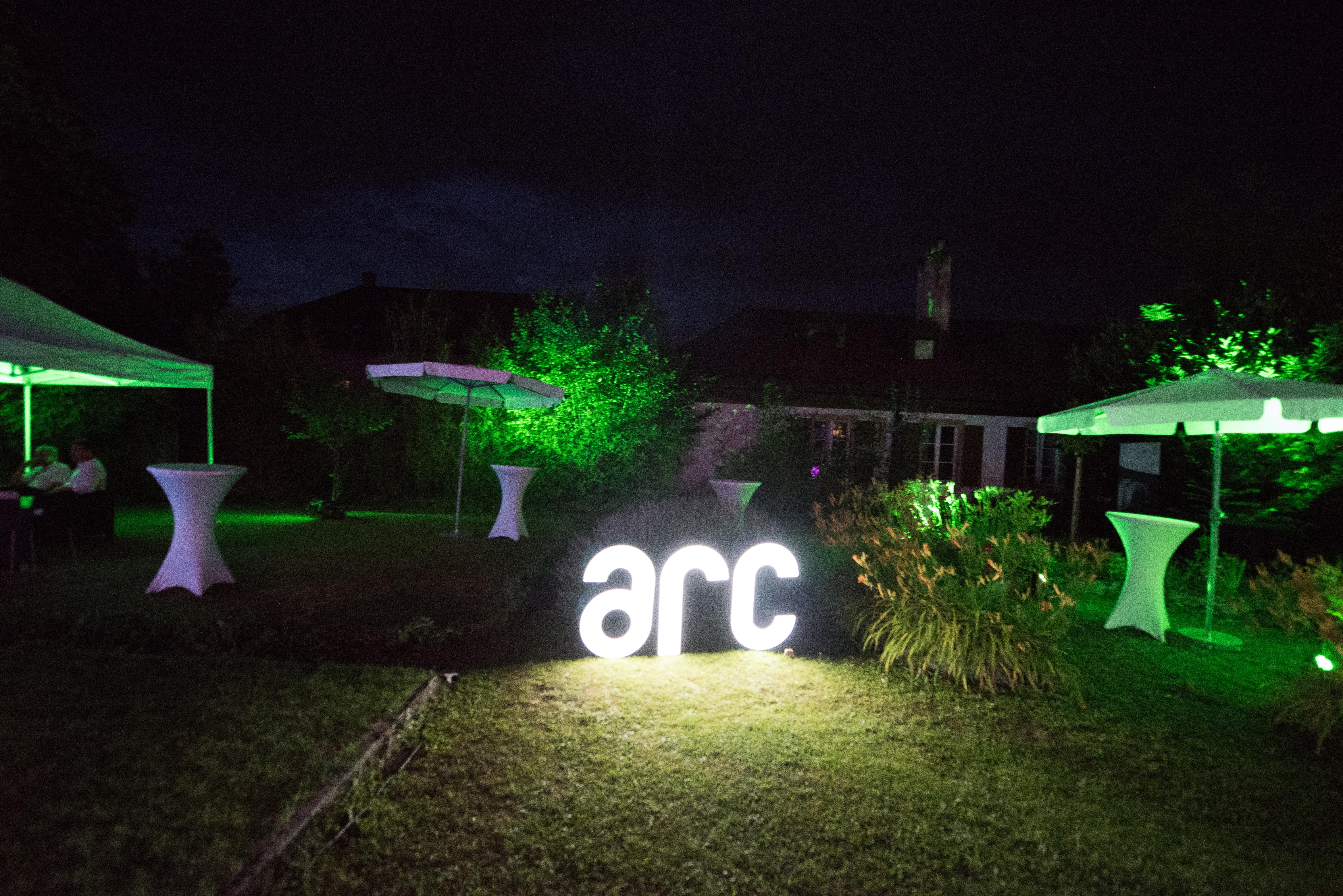 BBQ de l'Innovation jardin P&TS ARC