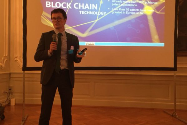 Conference Blockchains AmCham Intellectual Property