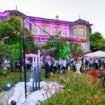 BBQ de l'Innovation, 26.6.2018, statue JC Schwarz