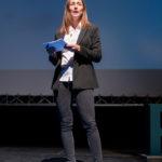 Alizée Liechti lors des 20 ans de P&TS