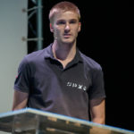 Xavier Lepercq, chief engineer of SP80, during the official launch with P&TS