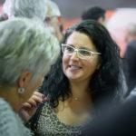 Myriam Petit lors des 20 ans de P&TS